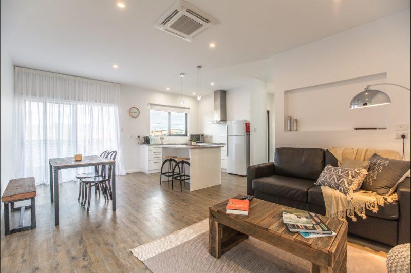 Living Area - Island Quarters Flinders Island Tasmania