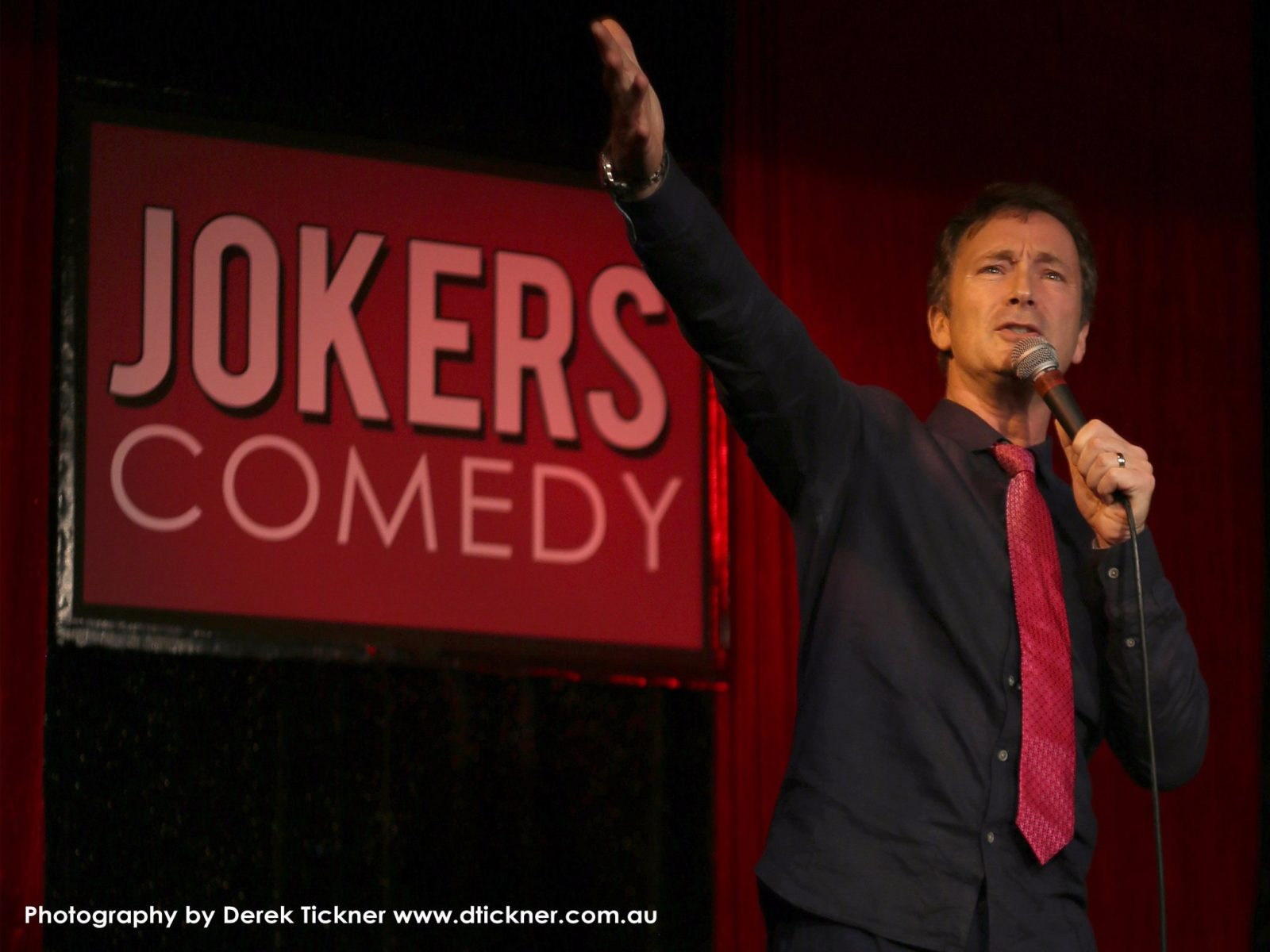 Jeff Green performs at Jokers Comedy Club