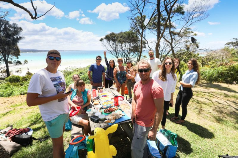 bay of fires picnic