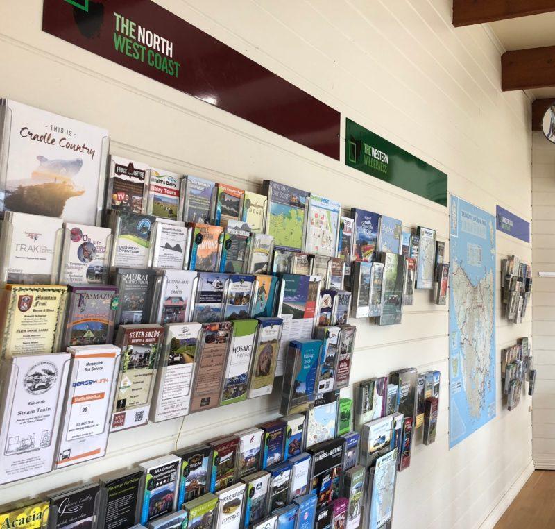 North West Tasmania and Northern Tasmania brochures including Cradle Mountain