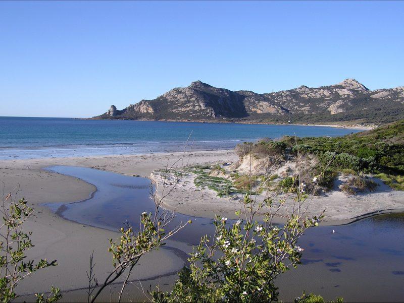 Killiecrankie Beach Flinders Island Tasmania