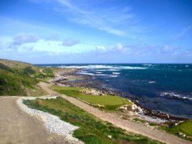King Island Golf track Ocean Dunes