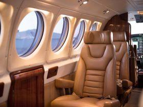 King Air interior seating