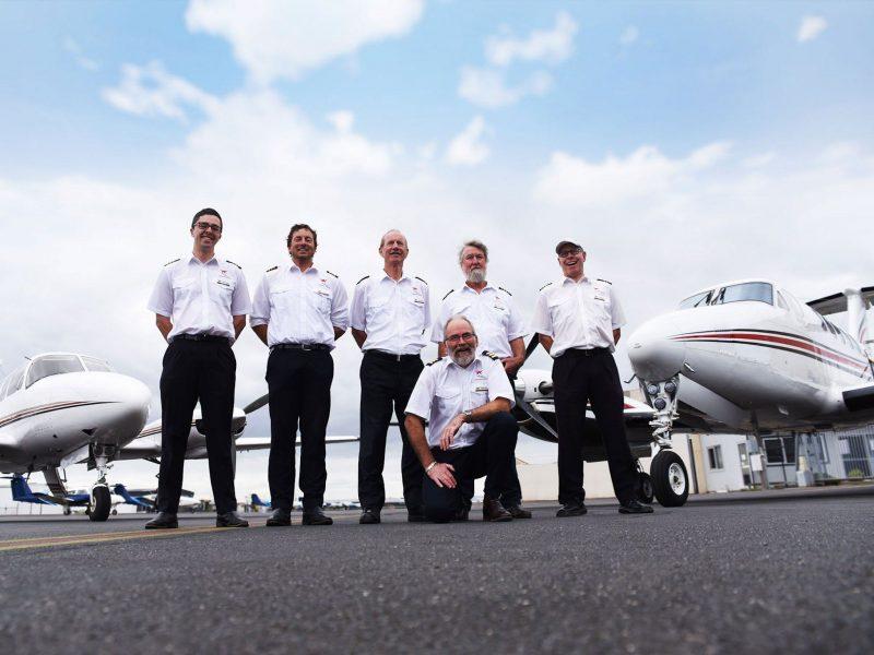 Kirkhope Aviation has more than 40 years experience flying around Australia.