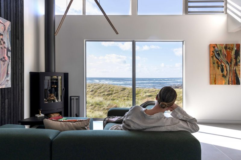 Relax, surrounded by nature, with panoramic coastal views