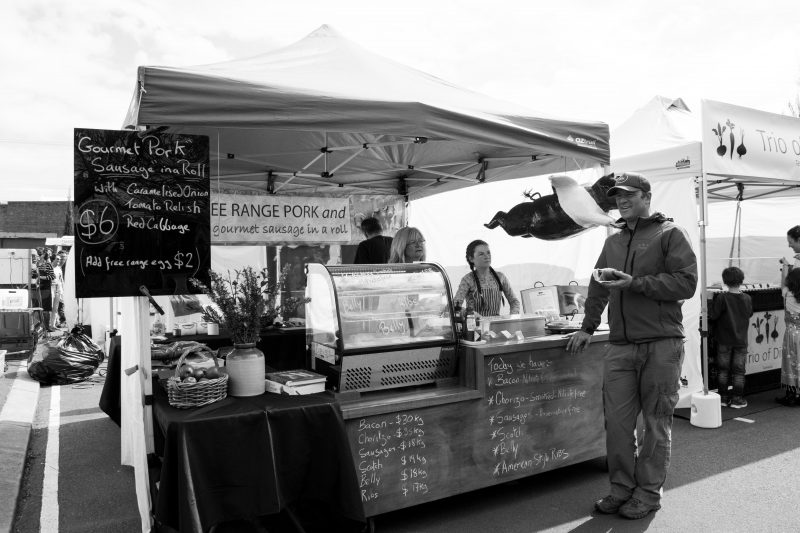 Langdale Farm stall at Harvest Launceston