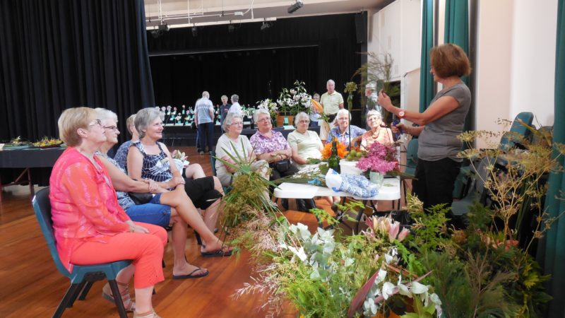 Floral Art Demonstration