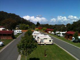 Caravan Park Grounds