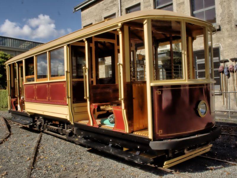 Tram No 1 at Inveresk