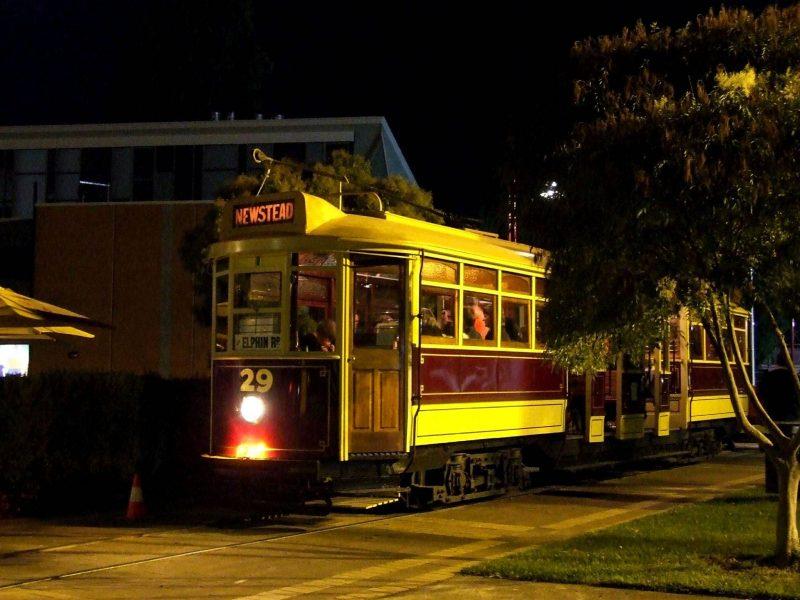 Tram No 29 on Night Run