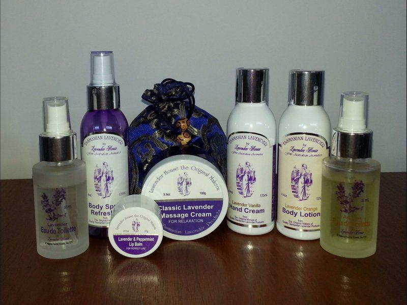 Lavender House Tasmania product selection