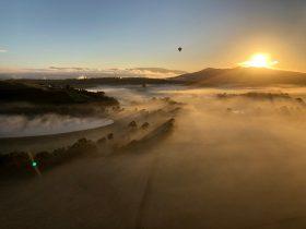 Balloon flights in Tasmania. Ballooning Tasmania. Balloon rides Tasmania