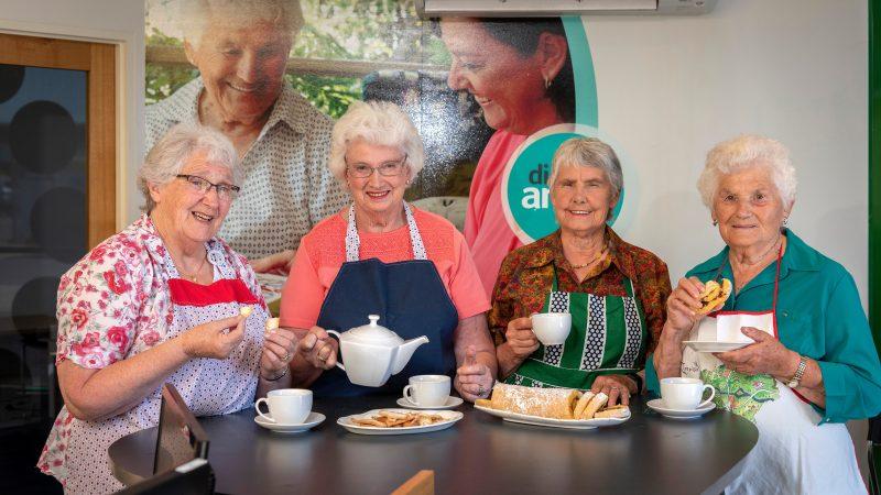 Four Roses Flour Ladies