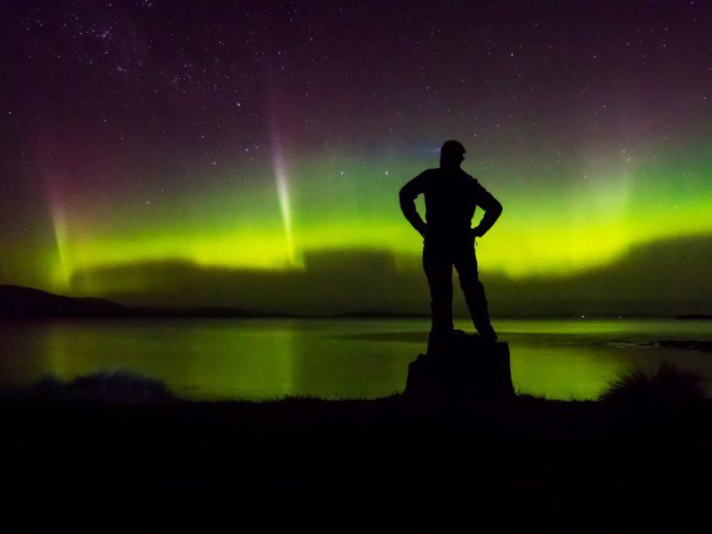 aurora australis tasmania luke obrien photography