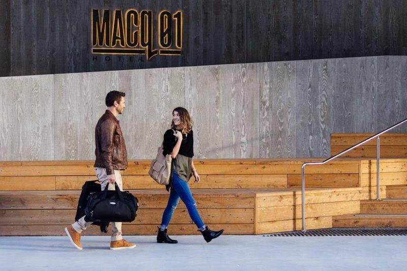 MACq 01 Hotel Entrance