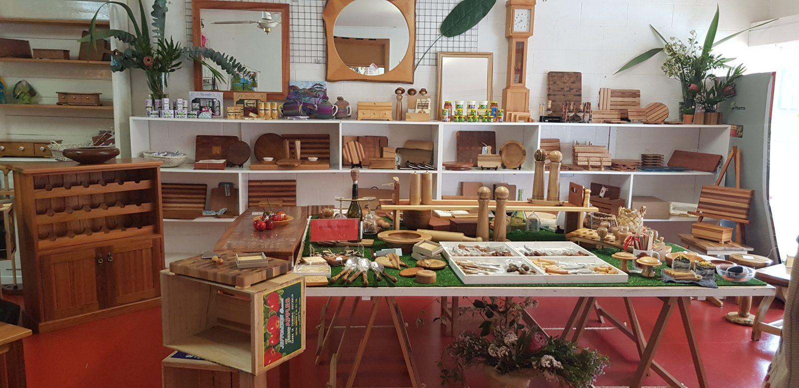 Tasmanian woodcraft exclusive to makers on church st Geeveston Tasmania