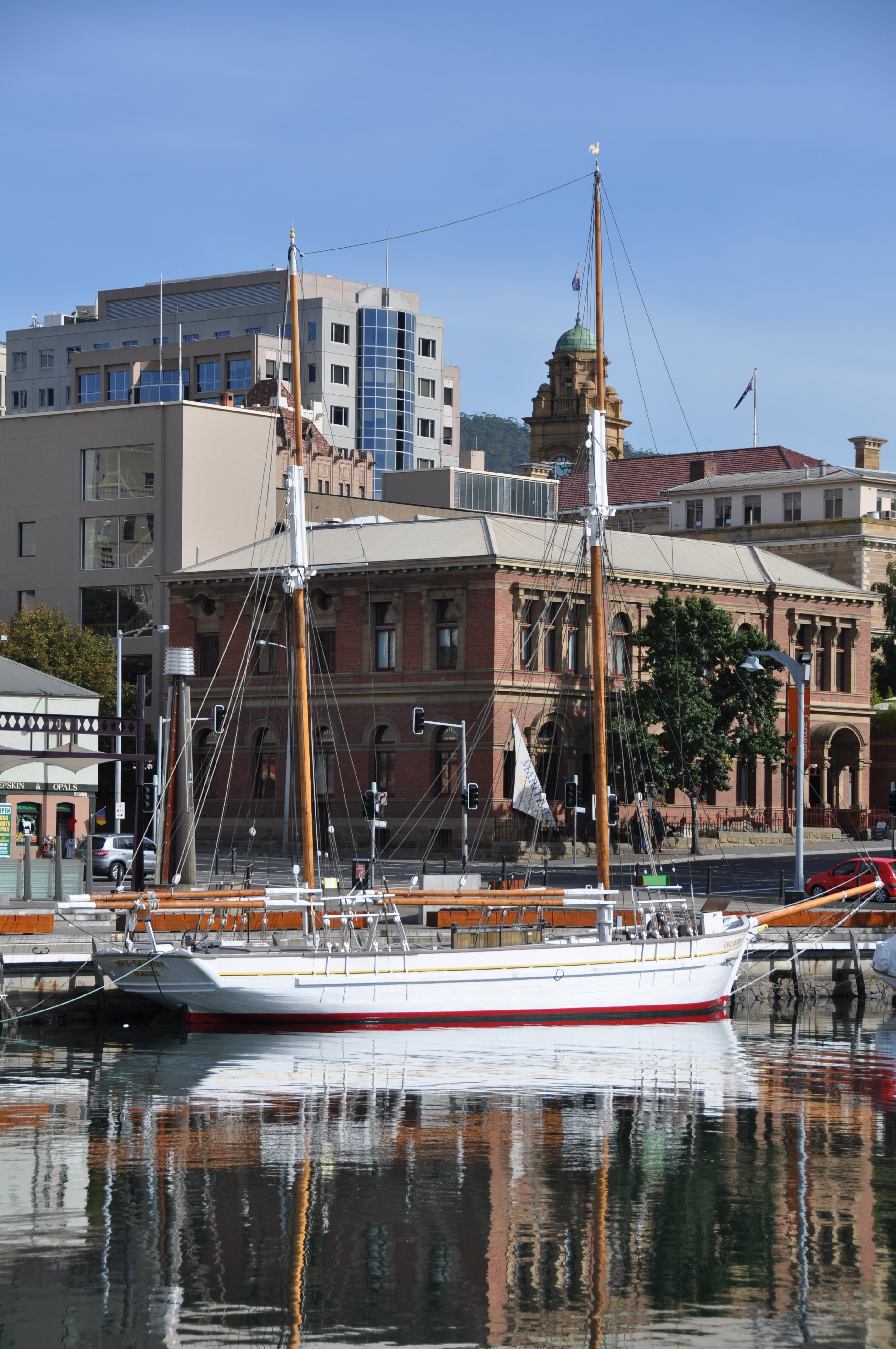 Maritime Museum of Tasmania May Queen Constitution Dock Hobart