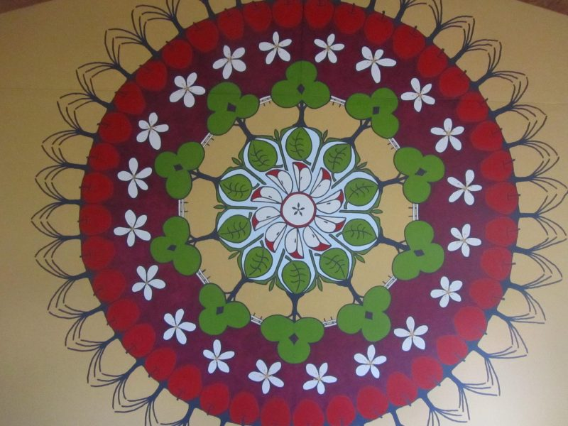 Mandala at Hillwood Road Meditation Skills Centre