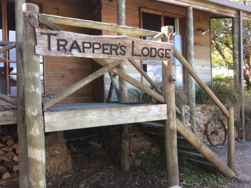 Trappers Lodge Entrance