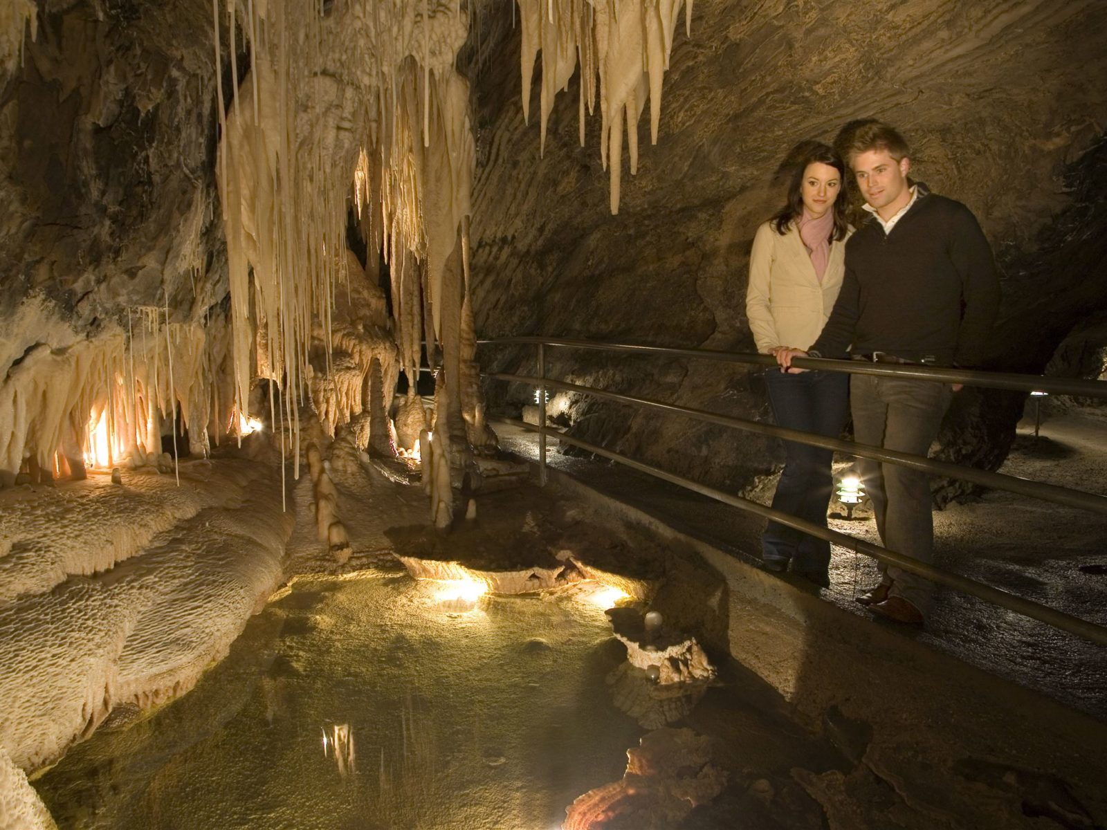 Marakoopa Cave Underground Rivers Tour