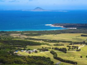 Overview of Mountain Seas Retreat on Flinders Island