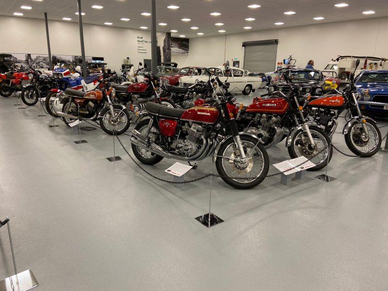 Main hall motorcycles