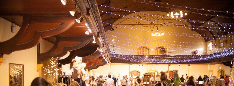 Albert Hall Launceston ceiling detail