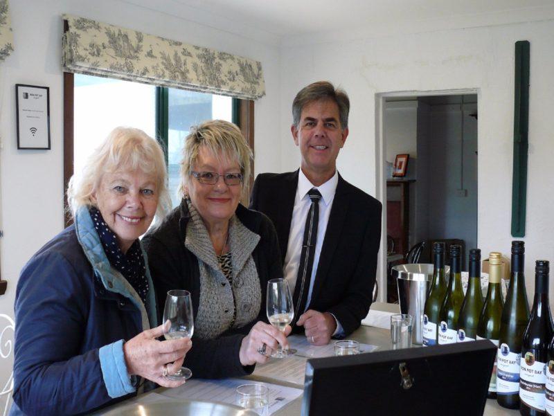 Iron Pot Bay Vineyard on Tamar Valley Wine Route