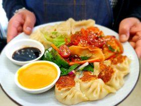 Nepalese Chicken Dumpling Platter