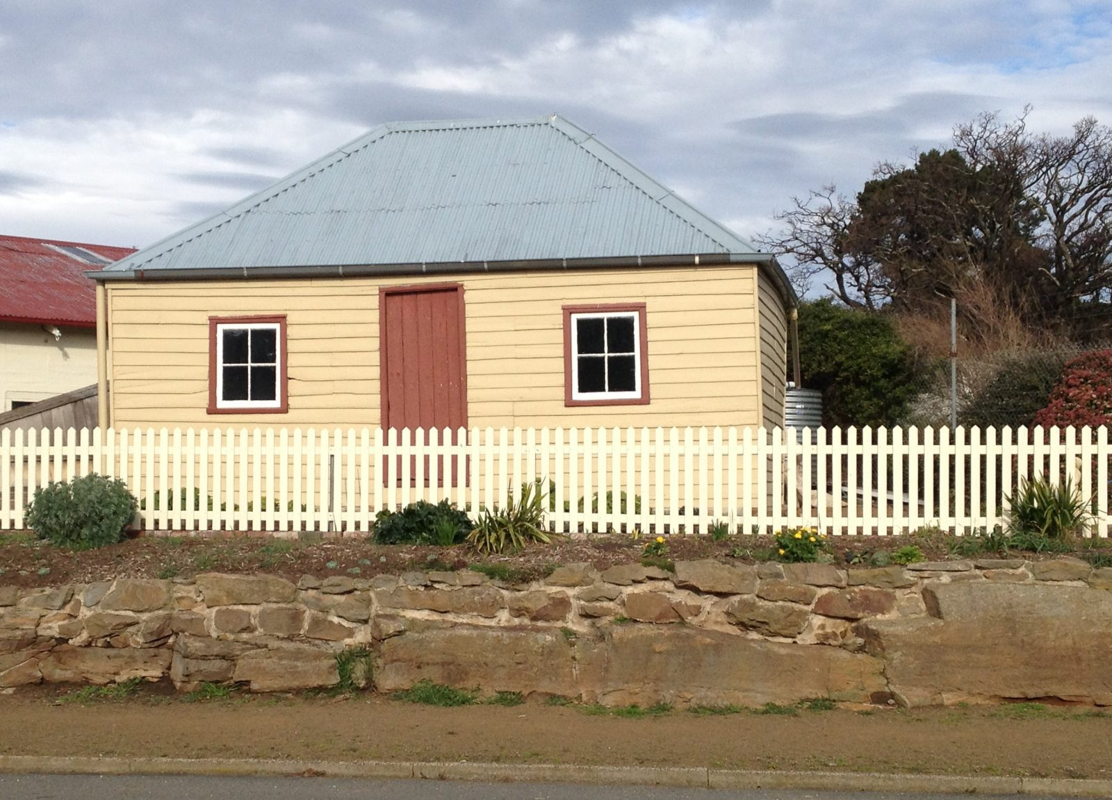 1840's cottage on museum site