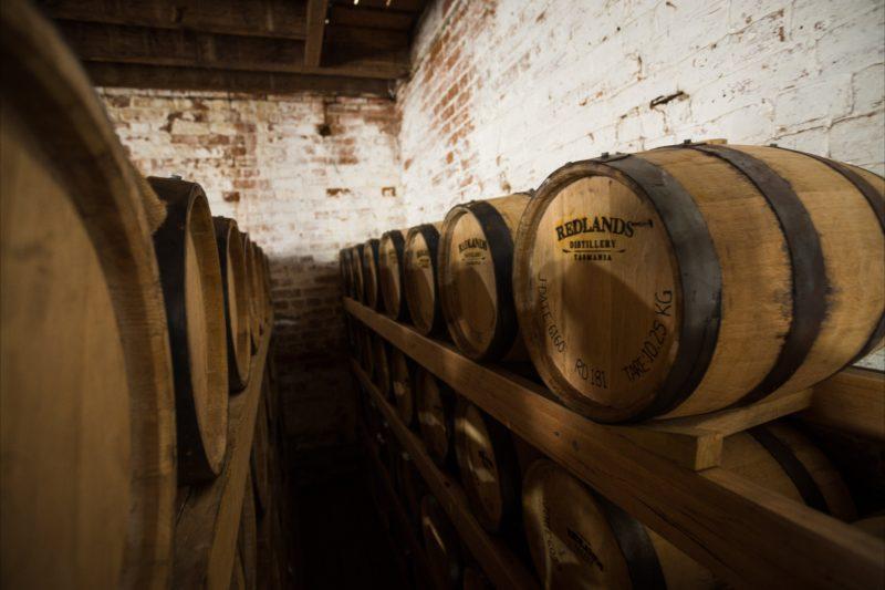 Redlands Distillery bondstore