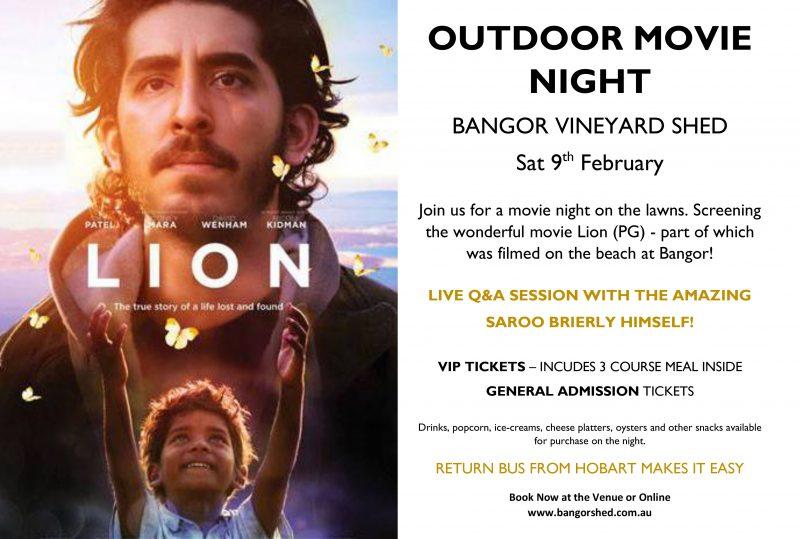 Outdoor Movie Night at Bangor
