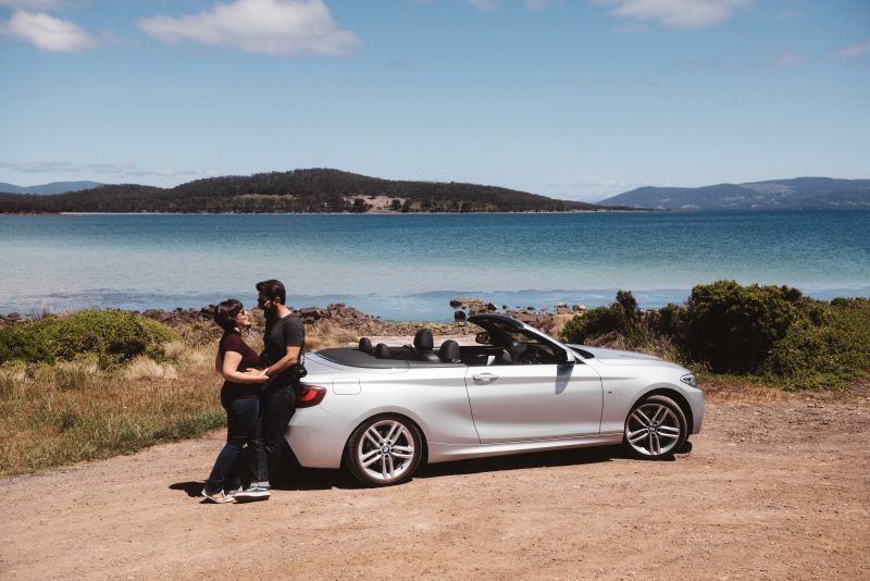 Convertible hire in Hobart