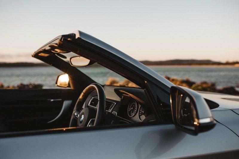 Overdrive Car Hire - BMW convertible rental in Tasmania