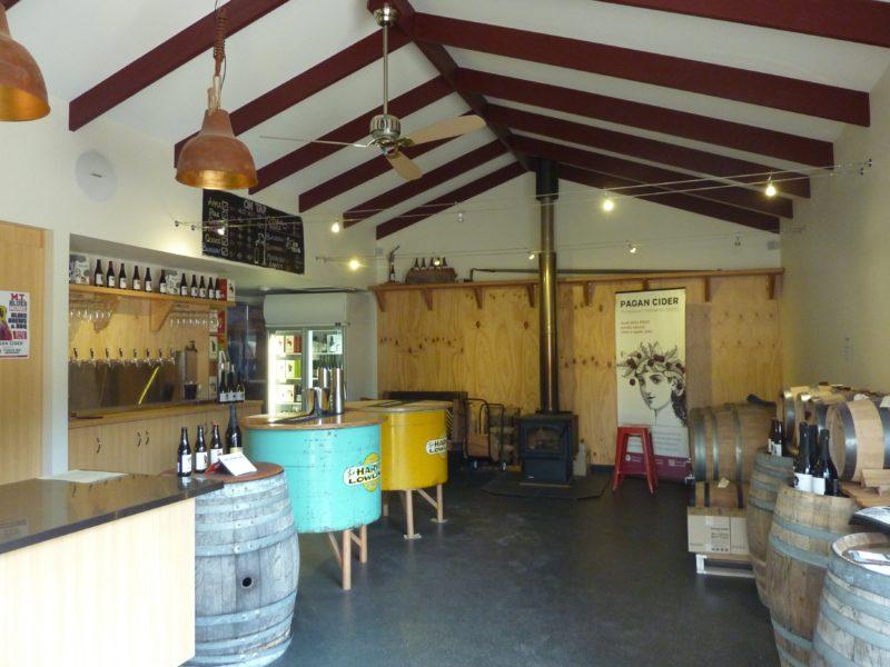 Pagan Cider tasting room