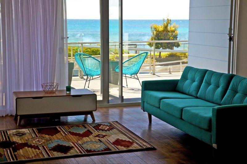 Beachfront 1 living area