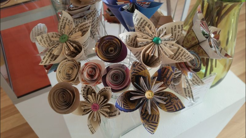 Artist Made Paper Flowers
