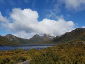 Picture of Cradle Mountain taken on recent tour
