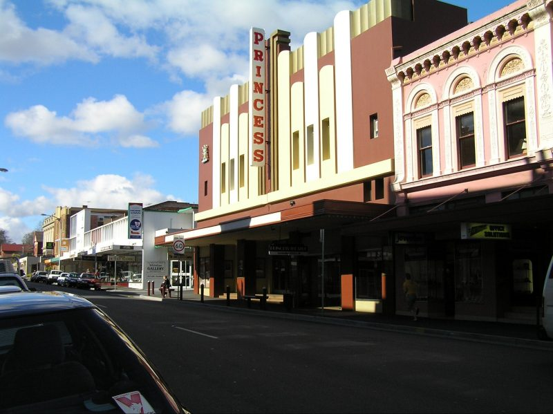 Princess Theatre Launceston - Facade