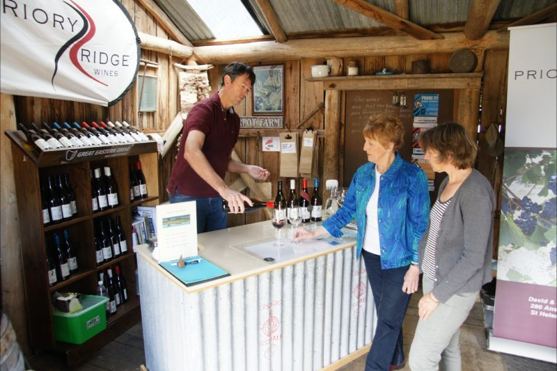 Cellar door tastings