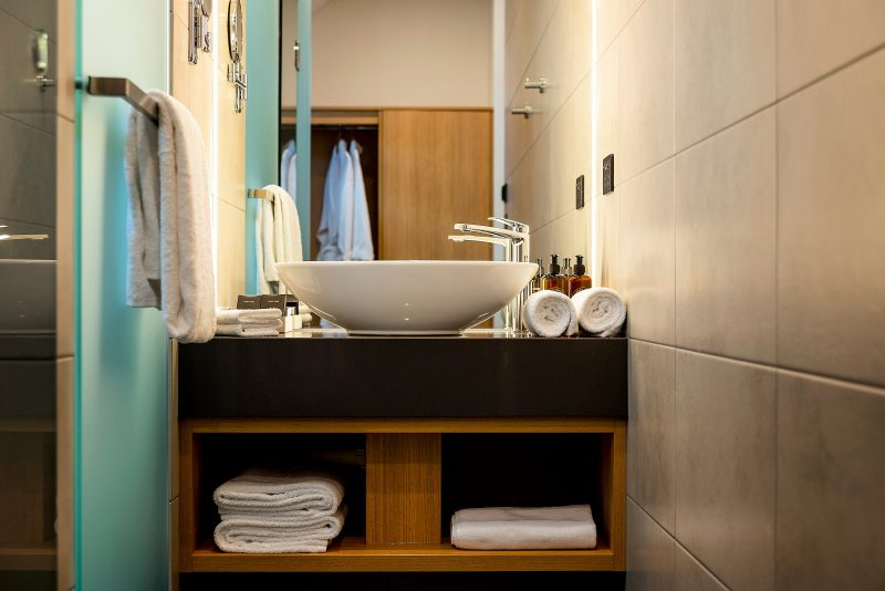 Molton Brown product and luxury linens