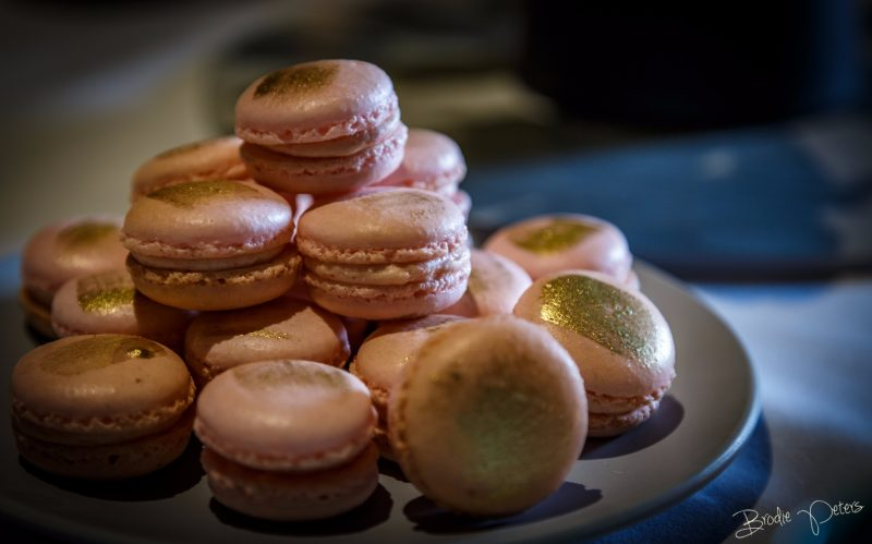 Macarons on arrival