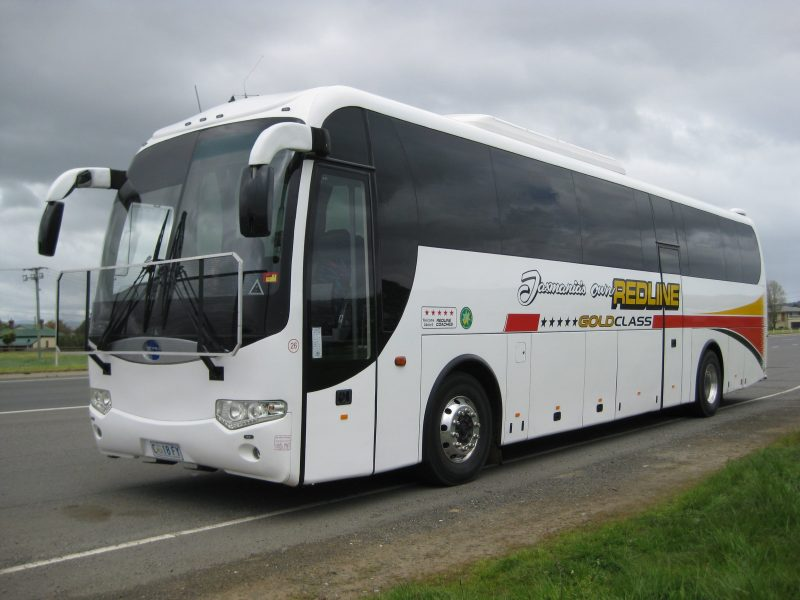 2 door tour coach