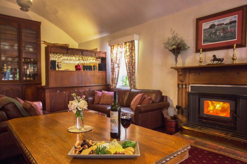 The dining room at The Racecourse Inn, Longford, Tasmania - heritage B&B