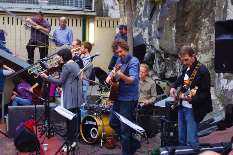 The band at Rektango