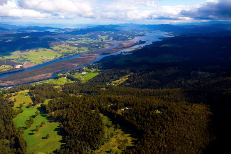 Franklin and the Huon River