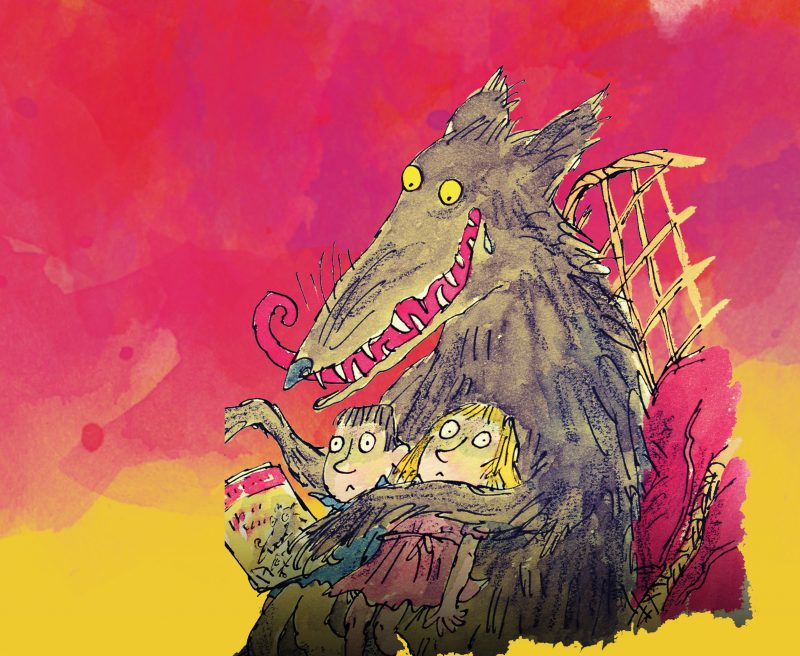Roald Dahl's Revolting Rhymes & Dirty Beasts at the Theatre Royal (Illustration: Quentin Blake)