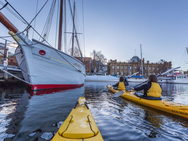 Hobart City paddle