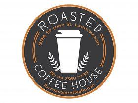 Roasted Coffee House Logo