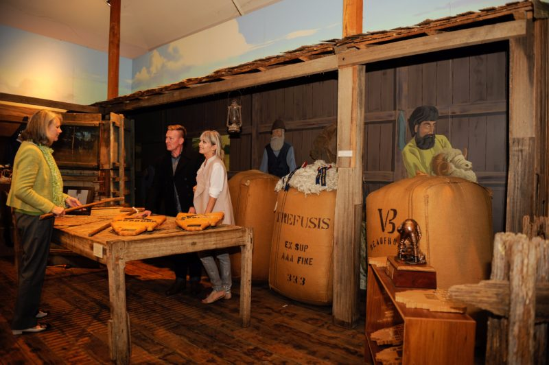 The Museum at the Tasmanian Wool Centre